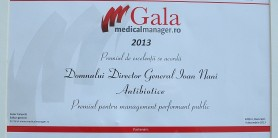 Diploma Medical manager 2013