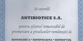 Diploma de excelenta Rommedica 2001