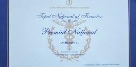 Topul national al firmelor Premiul Natiional CCIR -2012
